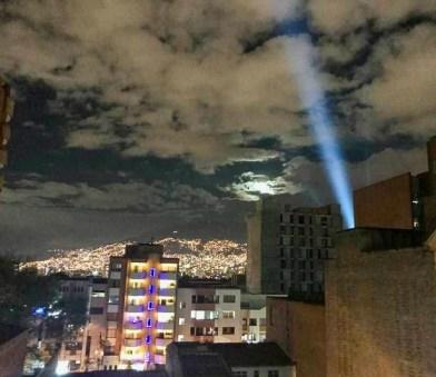 skyline ¡Feliz Navidad! Medellín Lights Up for Christmas Colombia Medellin