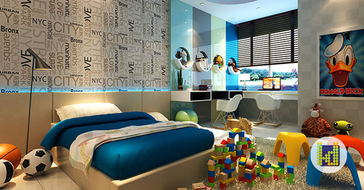 7 Psychological Impacts Bedroom Interior Designs Have On Your Child S Development Latitude Design Sdn Bhd