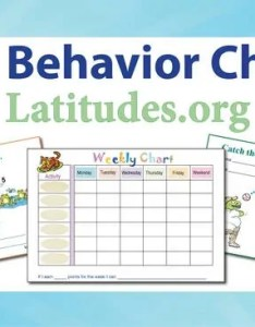Free printable behavior charts for home and school also acn latitudes rh