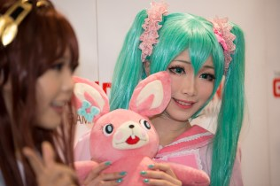 a couple of the Japanese cosplay stars