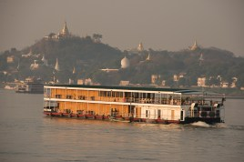 Cruise ferry at Sagaing