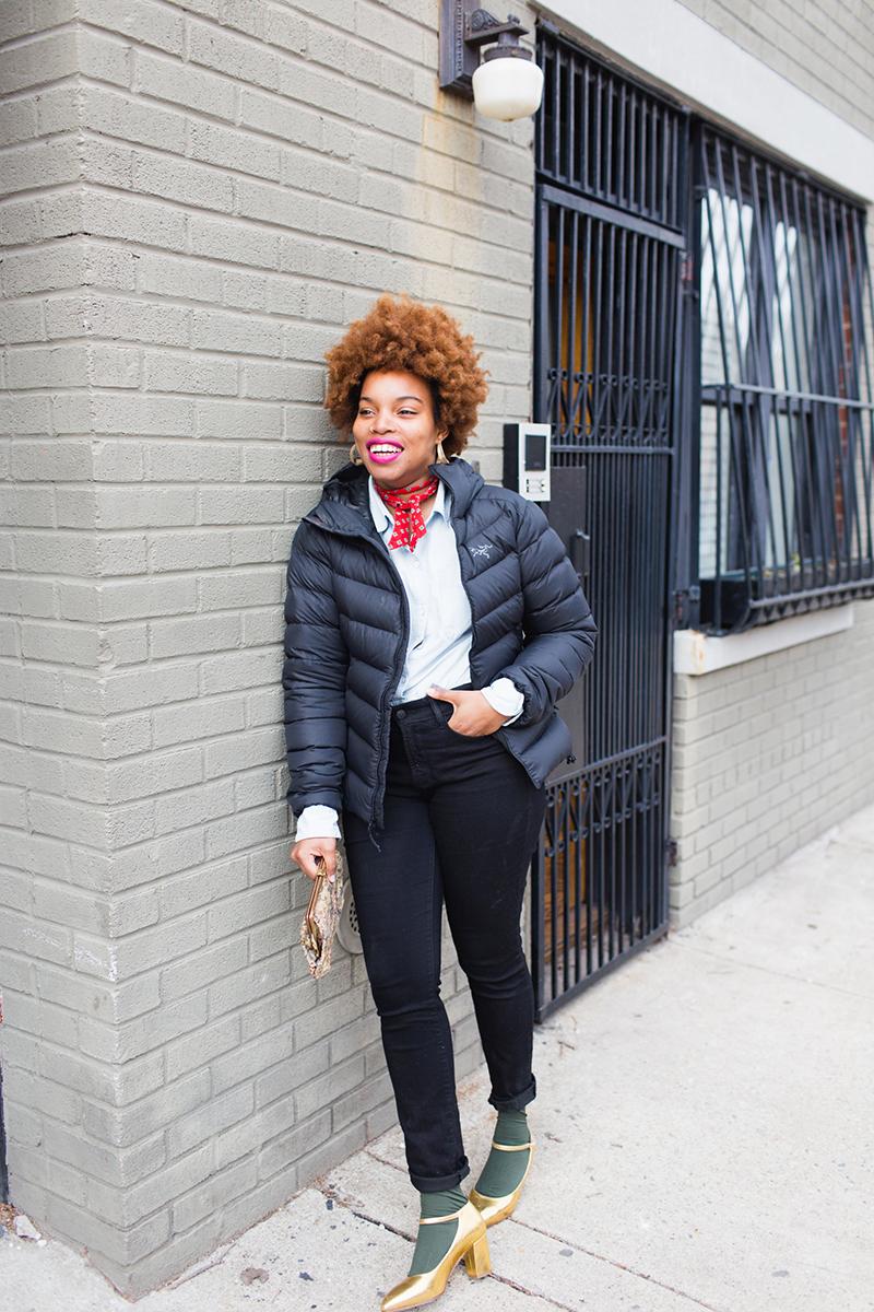 2 Ways To Dress Up A Puffer Coat