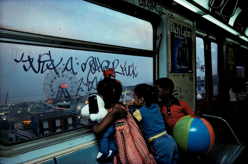 A Glimpse at Coney Island in The 80s