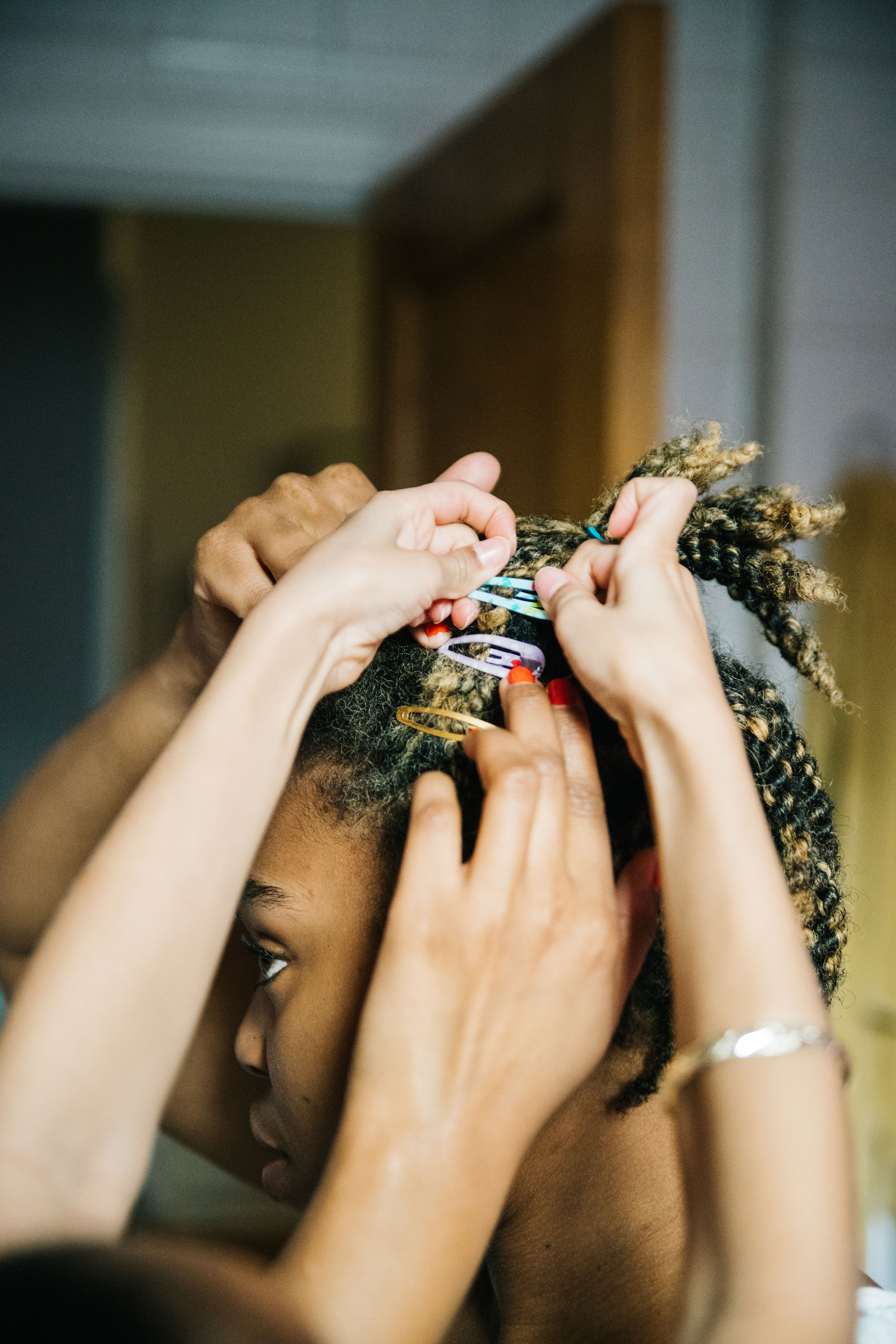 Hair Clips, At The Forefront