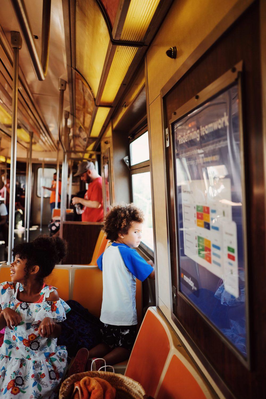 Motherhood Right Now: Simple Train Adventures