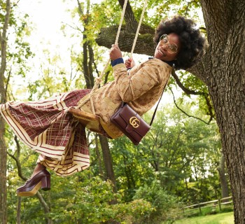 Swinging On Swings and Finding Balance In Fashion