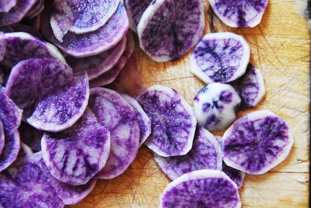 patates bleues galerie