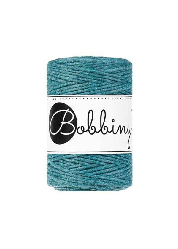 corde peignée turquoise 1,5mm pour macramé
