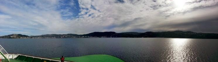 Llegando a Wellington