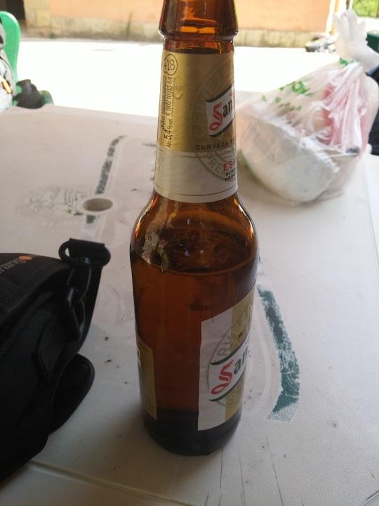 Necesito una cerveza... bueno, mejor tres!