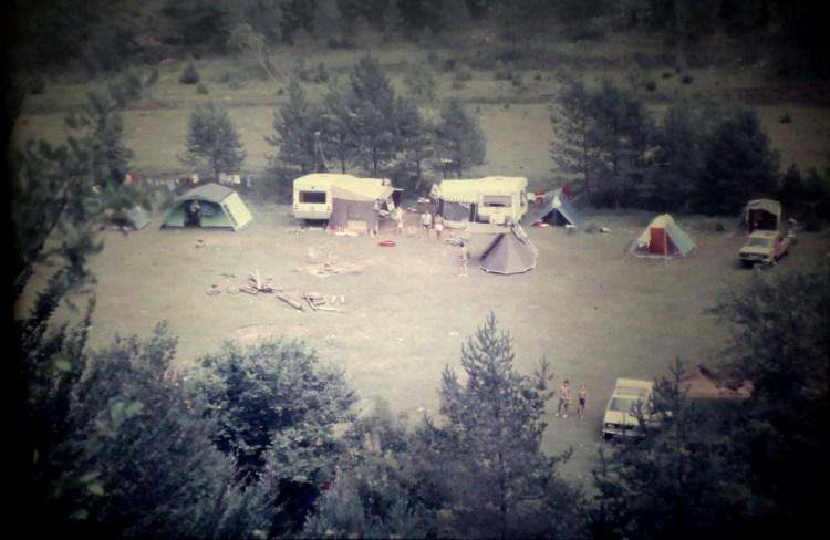 El campamento