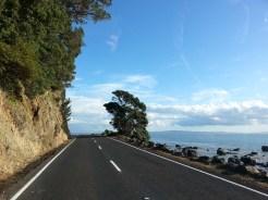 Camino a la bahía de Fletcher
