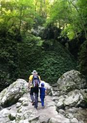 De camino a las cascadas Kozjak