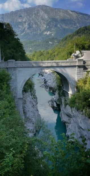 Puente de Napoleón en Kobarid