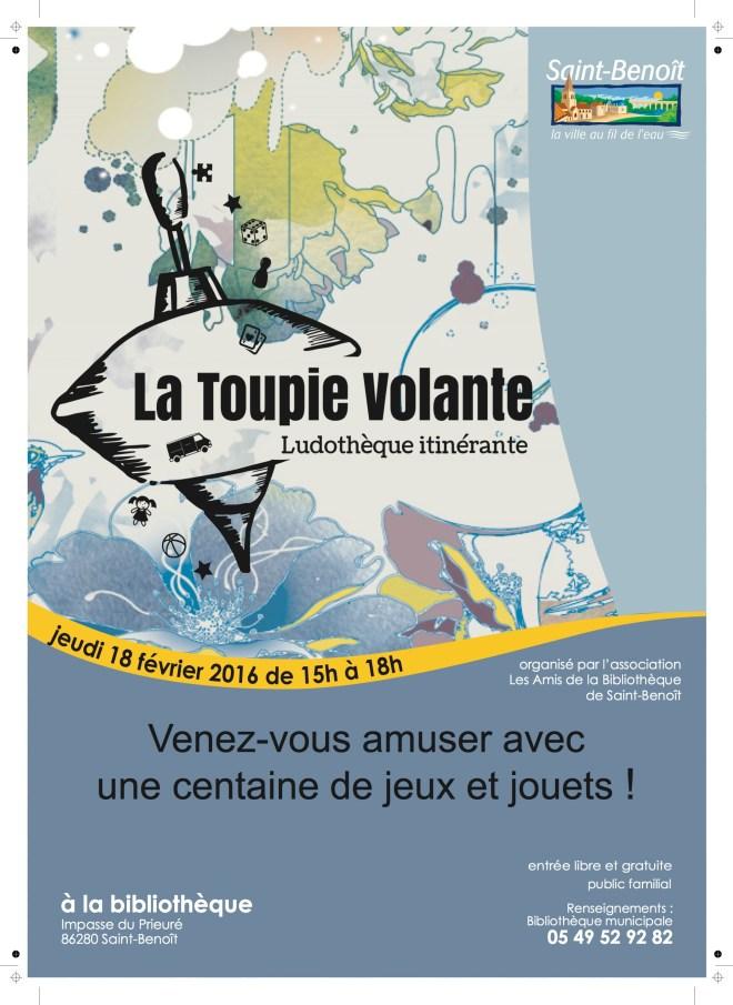 La Toupie Volante à Saint-Benoît février 2016