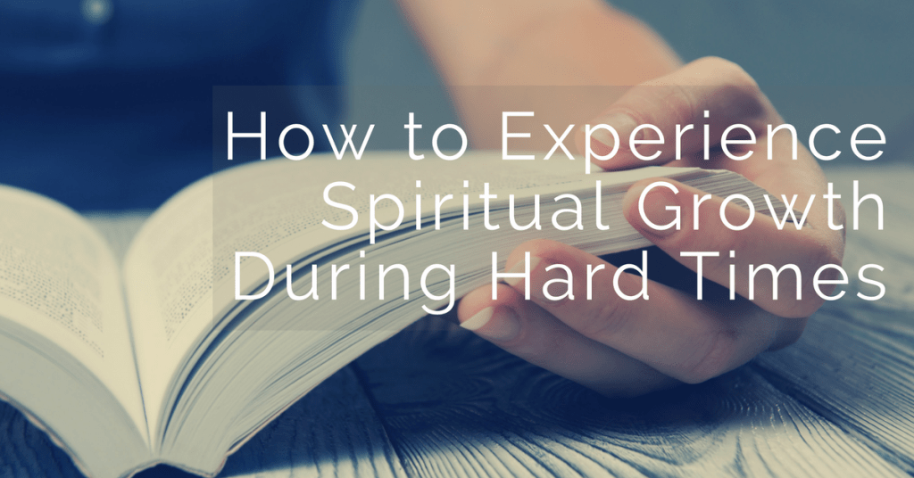 Spiritual growth is possible during hard times. In fact, it's the key to victory! Here's how you can find God in the pain and embrace your identity.