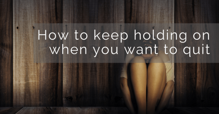 How to Hold onto HOPE During Hard Times
