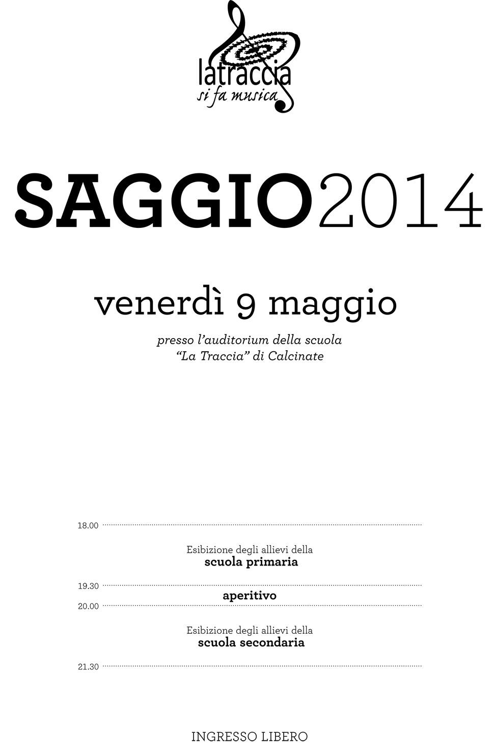 SAGGIO-2014