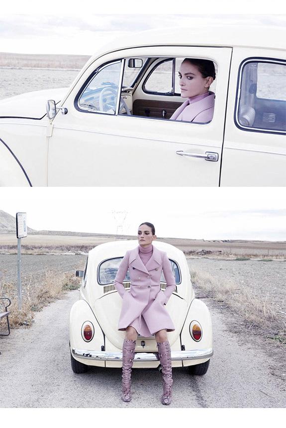 The Journey con Laura Ponte. Fashion Film de Monica Menez. Producción de Enri Mür y SModa.
