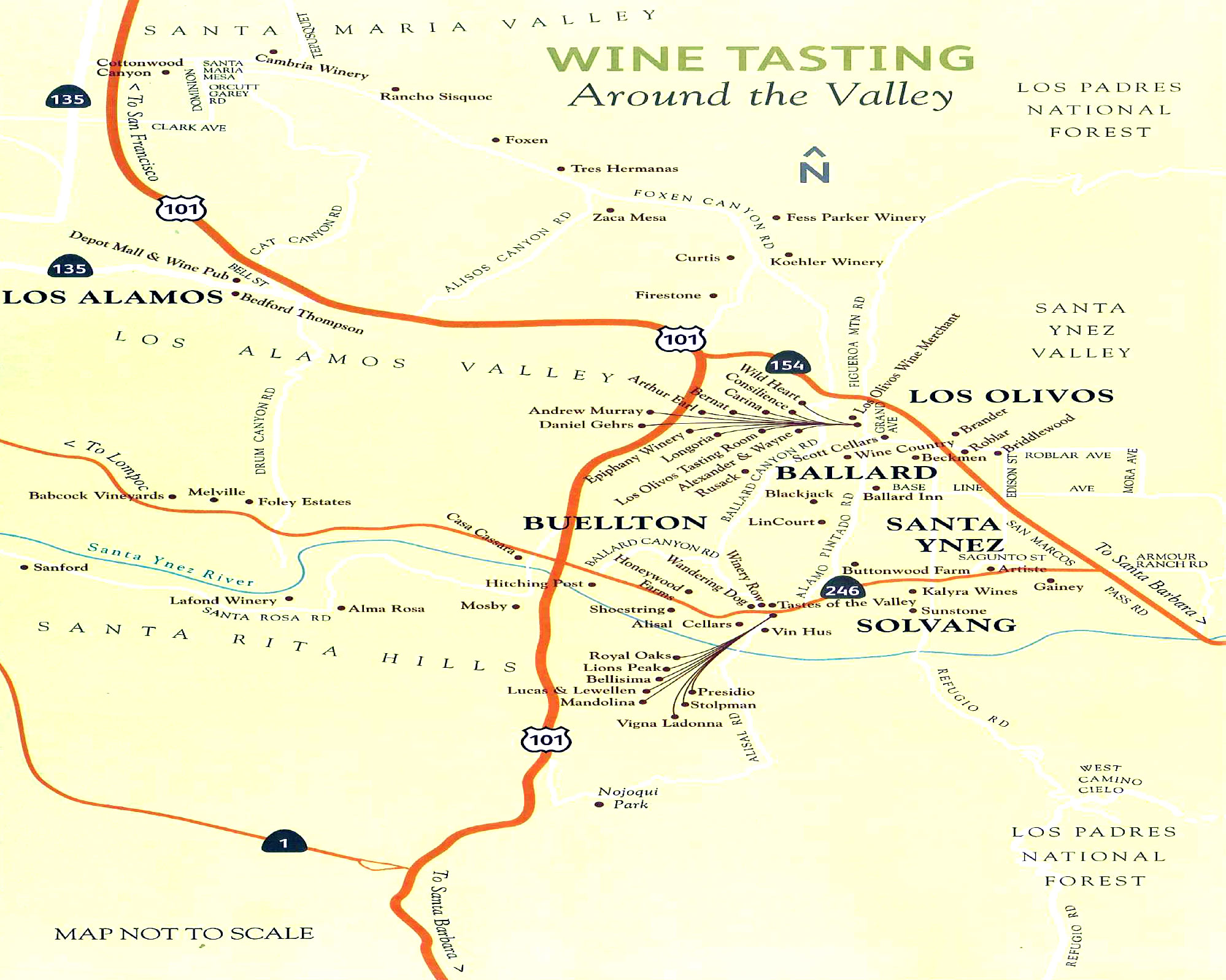 Image result for santa barbara wine country
