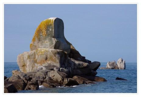 rocher port de Poulennou