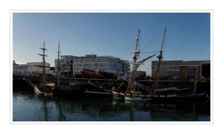 port de comemrce de Brest