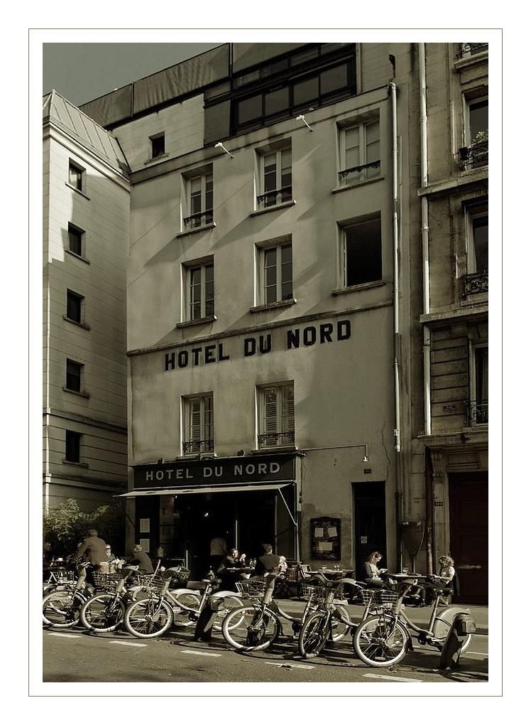 l'Hotel du Nord quai de Jemmapes