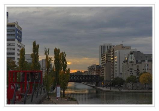 canal de l'Ourq - La Vilette
