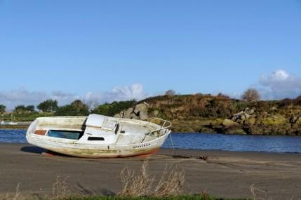 bateau à la Baie de Guissény