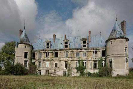 façade arrière château Popkov