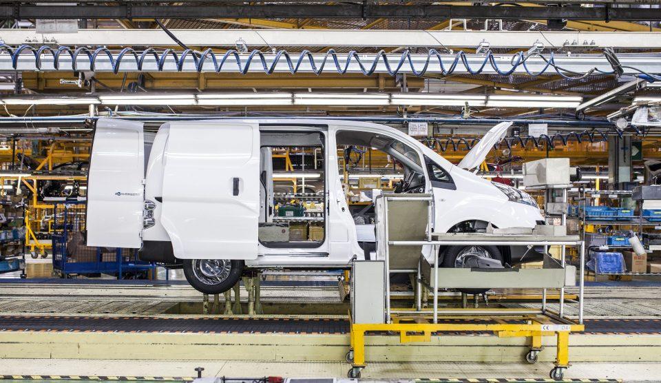 Fábrica de Nissan Barcelona donde se ensambla la e-NV200.