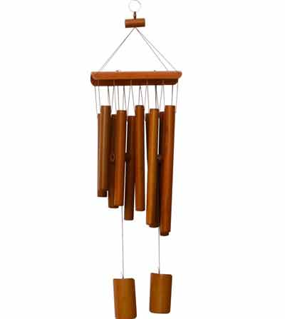 campanilla para exterior de madera