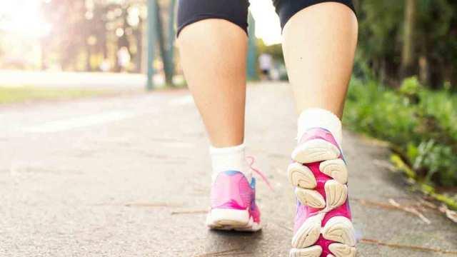salir a andar después de correr