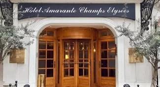 @credit Amarante Champs Elysées