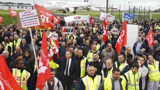 Air France grève