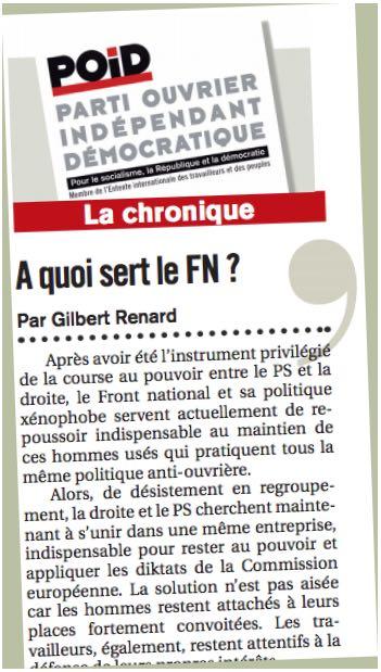 Chronique FN