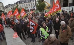 brest : manifestation contre loi travail