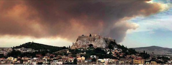 TT150 Grèce incendie