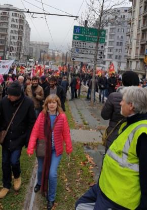 Grenoble, le 5 décembre.