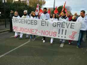 Avignon. Les Urgences manifestent.