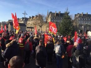 Le 5 décembre à Saint-Malo