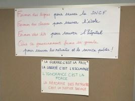 Au collège Marie Curie des Lilas (Seine-St-Denis)