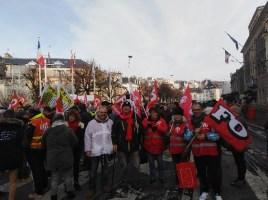 Granville (Manche) : 600 manifestants ce 5 décembre