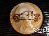 Coffee Catering & Espresso Bar Services - Truck- Latte Art