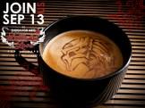 Latte Art Love- Predator