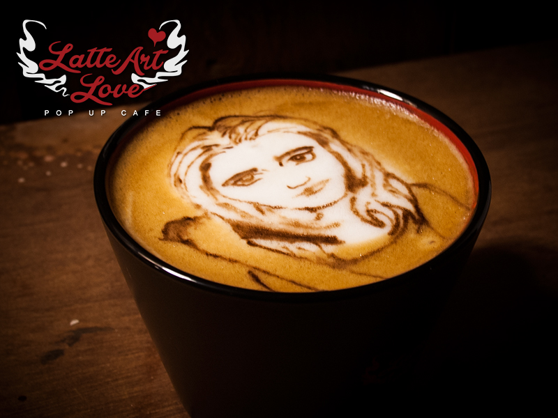 Latte Art Love - Buffy the Vampire Slayer