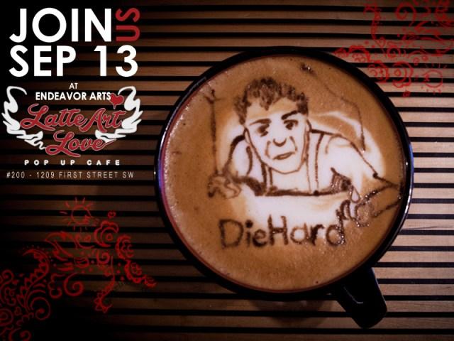 Latte Art Love - Die Hard