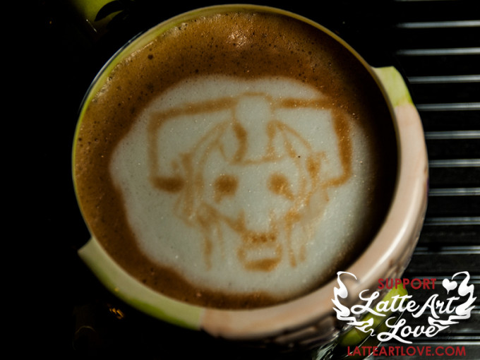 Latte Art - Doctor Who - Cyberman