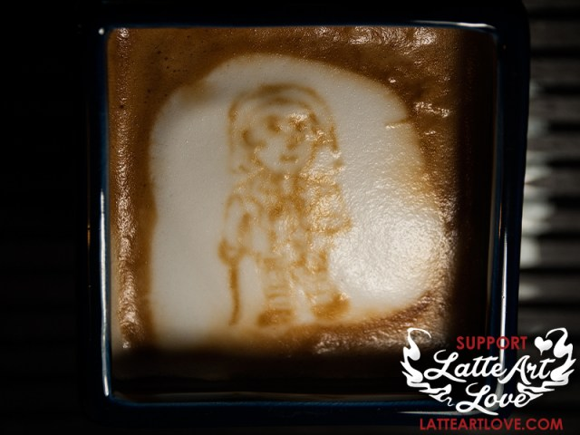 Latte Art - Doctor Who - First Doctor