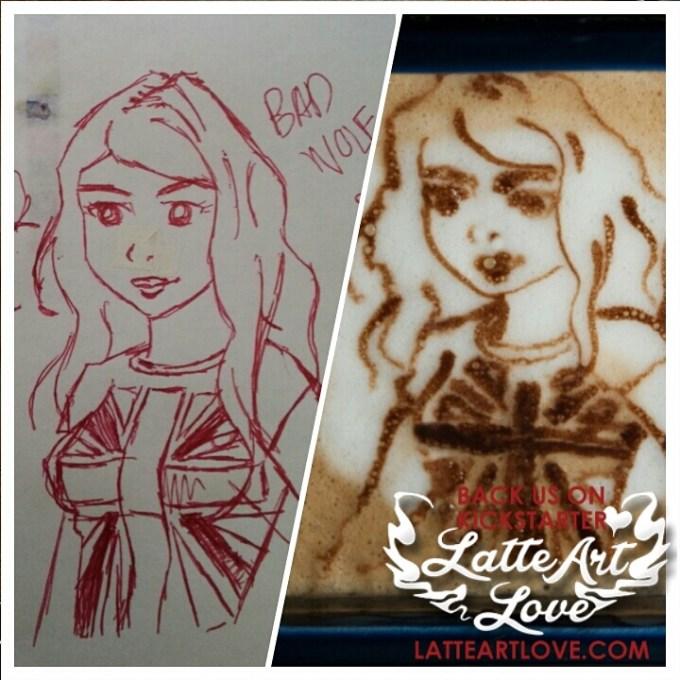 Latte Art - Rose Tyler